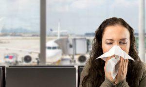 Você sabia que viajar de avião é um risco para transmissão da gripe?