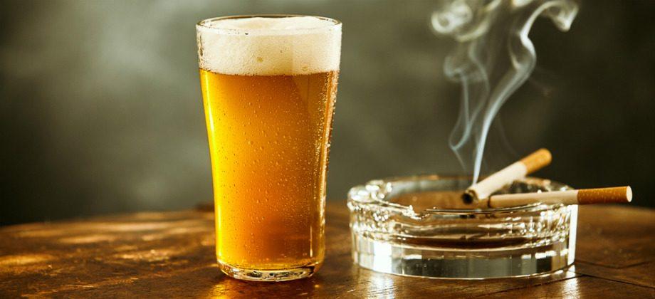 Imagem do post Por que cigarros e álcool oferecem mais riscos aos diabéticos?