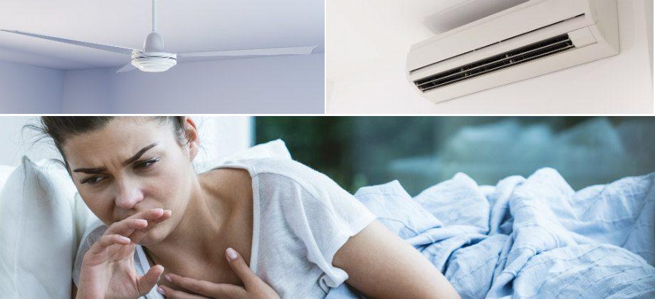 Imagem do post Garganta inflamada: devemos evitar ventilador ou ar-condicionado?