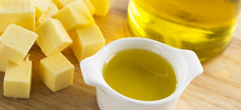 Imagem do post Manteiga, óleo ou azeite: Qual é o mais indicado para quem está com colesterol acima do normal?
