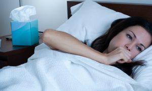 Por que a tosse seca costuma ser pior durante a noite?
