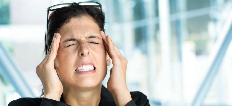 Imagem do post Dor de cabeça constante pode ser sinal de estresse?