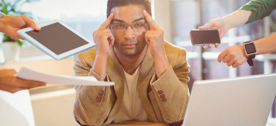 Imagem do post Como a ansiedade pode prejudicar seu desempenho no trabalho?