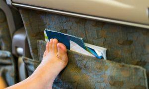 Quantas horas de voo um paciente com varizes pode encarar em uma viagem?