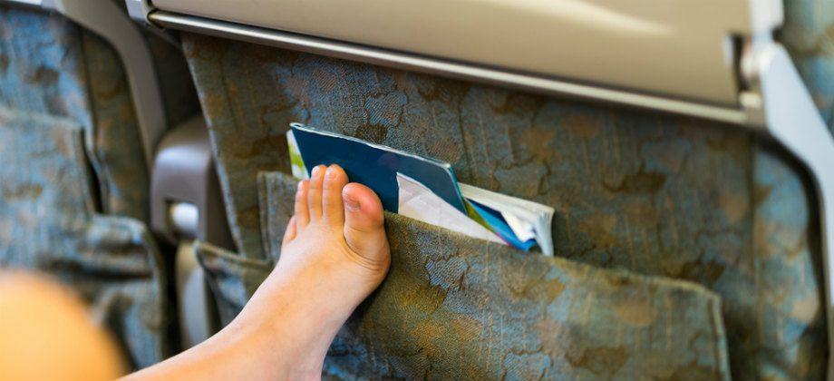 Imagem do post Quantas horas de voo um paciente com varizes pode encarar em uma viagem?