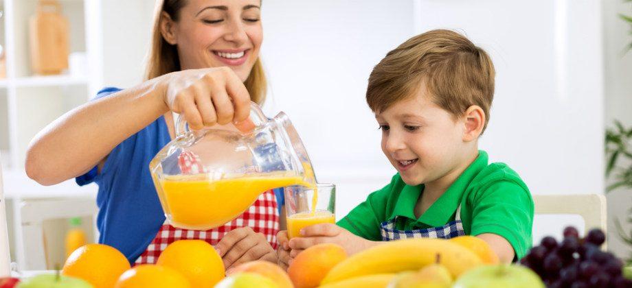 Imagem do post Qual o papel da alimentação no reforço do sistema imunológico das crianças?