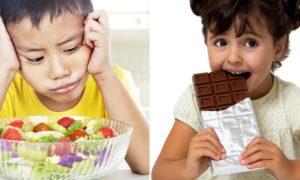Por que crianças costumam não gostar de verduras e legumes?