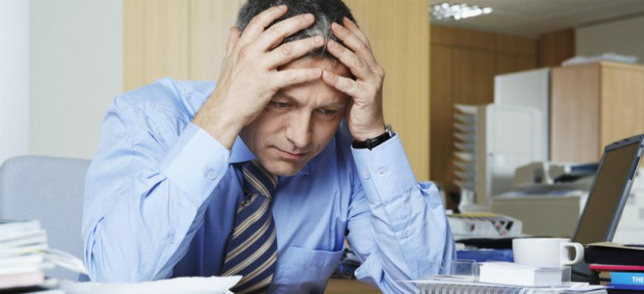 O estresse constante pode desencadear em uma depressão?