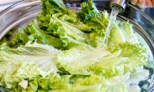 Por que é recomendado o uso de cloro na hora de lavar verduras?