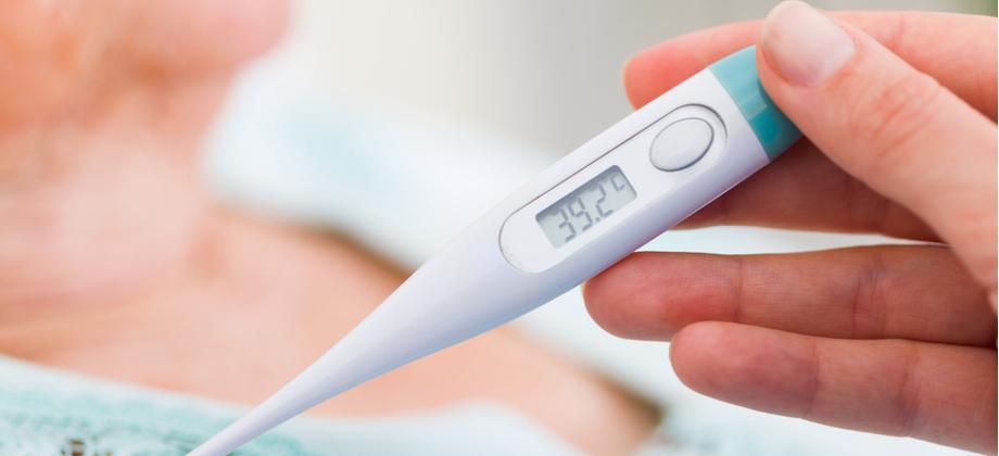 Um paciente com herpes pode ter febre depois da primeira crise?