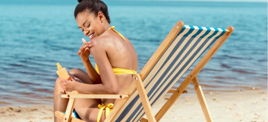 Como os protetores solares impedem a ação nociva dos raios UV?