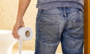 A diarreia é sempre causada por uma parasitose intestinal?