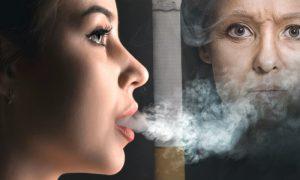 Fumar cigarro contribui para a formação de olheiras? Por quê?