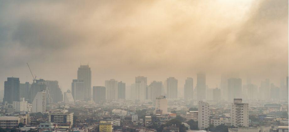 A poluição atmosférica pode, com o tempo, desencadear uma DPOC?