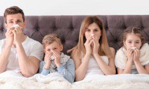 Um sistema imune forte pode resistir ao contato com vírus que causam resfriado?