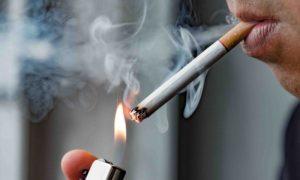Quais danos causados pelo cigarro contribuem para o desenvolvimento de DPOC?