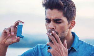 A DPOC se manifesta com crises, como a asma?