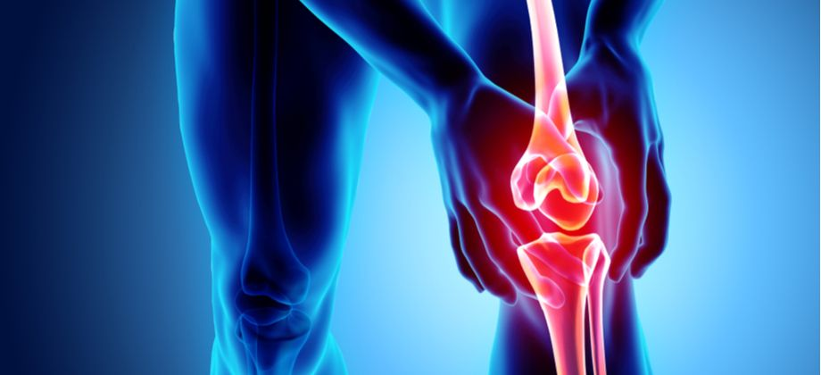 Como é a sensação de atrito dos ossos em um quadro avançado de osteoartrite?