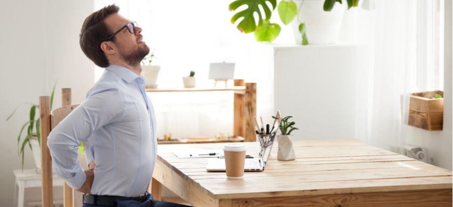 Má postura pode gerar osteoartrite na coluna?