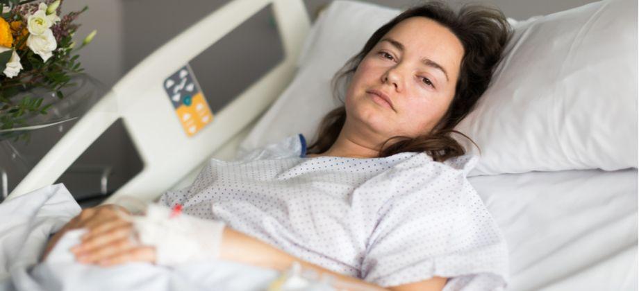 A endometriose pode provocar a internação da mulher?