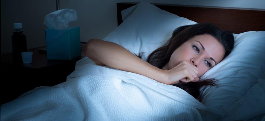 Asma: é normal um paciente acordar tossindo durante a madrugada?